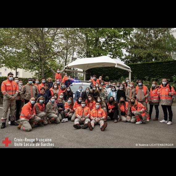 Habillons les bénévoles de La Croix-Rouge de Garches