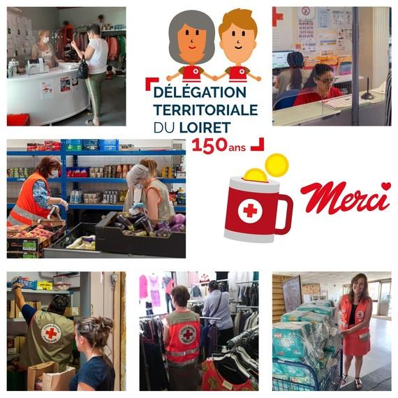 Croix-Rouge dans le Loiret, depuis 150 ans à vos côtés